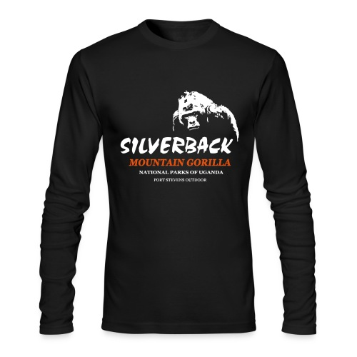 Silverback Gorilla Longsleeve - Men's Long Sleeve T-Shirt by Next Level