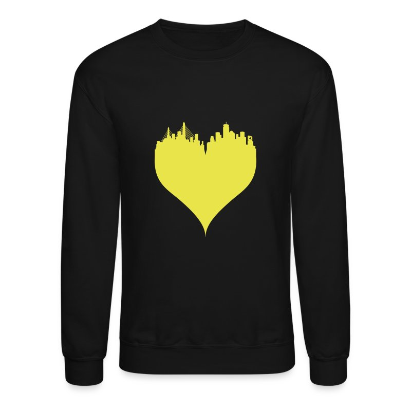Boston Love Blue/Yellow Crewneck Sweatshirt Sweatshirt | BOS by ...