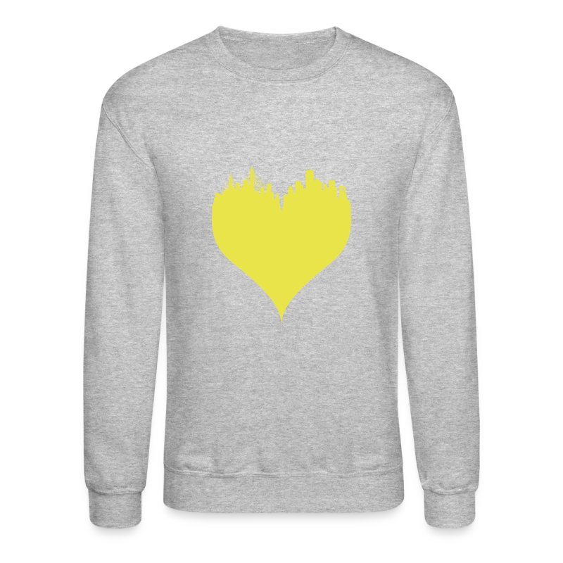 Boston Love Blue/Yellow Crewneck Sweatshirt Sweatshirt   BOS by ...