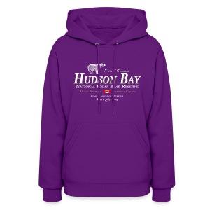 Hudson Bay Polar Bear Hoodie - Women's Hoodie