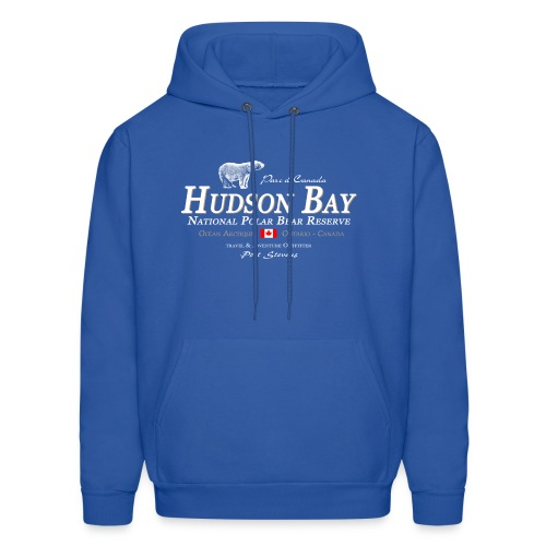 Hudson Bay Polar Bear Hoodie - Men's Hoodie