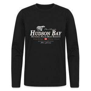 Hudson Bay Polar Bear Longsleeve - Men's Long Sleeve T-Shirt by Next Level