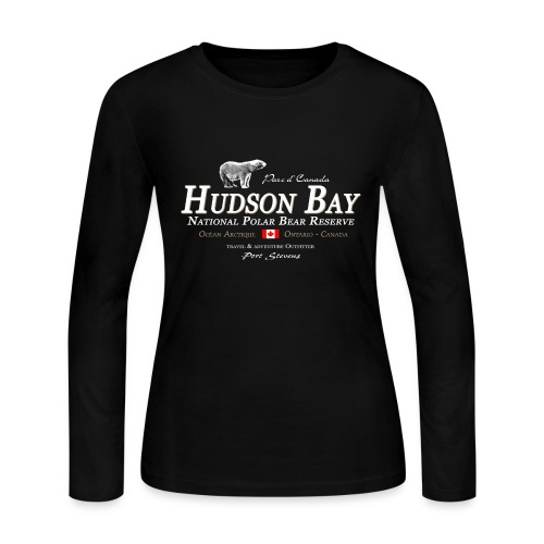 Hudson Bay Polar Bear Longsleeve - Women's Long Sleeve Jersey T-Shirt