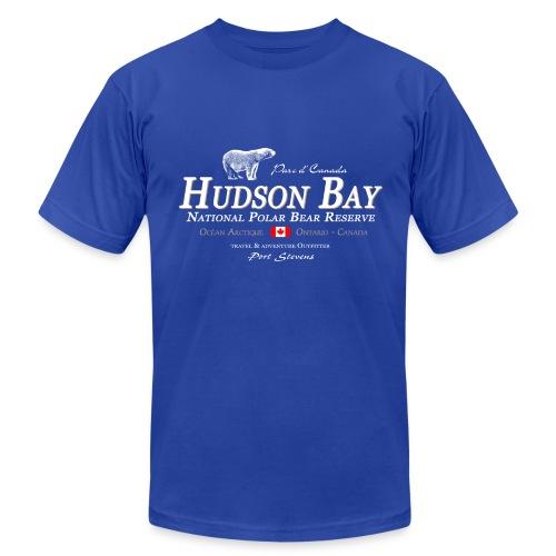 Hudson Bay Polar Bear T-Shirt - Men's Fine Jersey T-Shirt