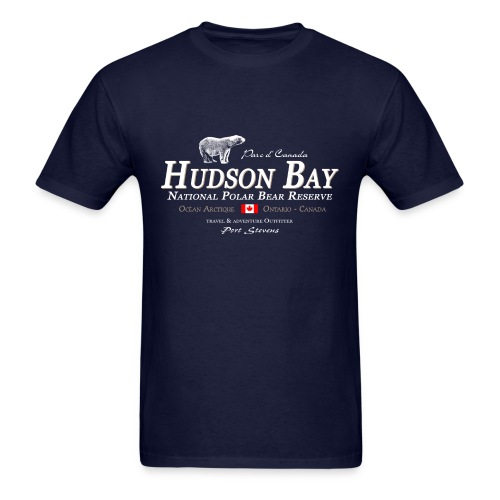 Hudson Bay Polar Bear T-Shirt - Men's T-Shirt
