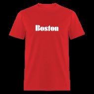 T-Shirts ~ Men's T-Shirt ~ Vintage Boston  Men's T-shirt