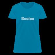 T-Shirts ~ Women's T-Shirt ~ Vintage Boston  Women's T-shirt