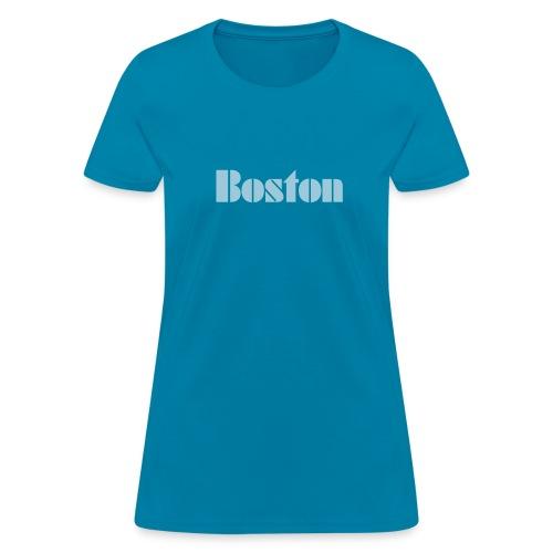 Vintage Boston  Women's T-shirt - Women's T-Shirt