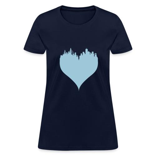 Boston Love Women's T-shirt - Women's T-Shirt
