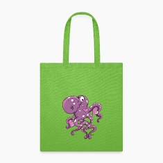 Amorous Octopus Bags & backpacks