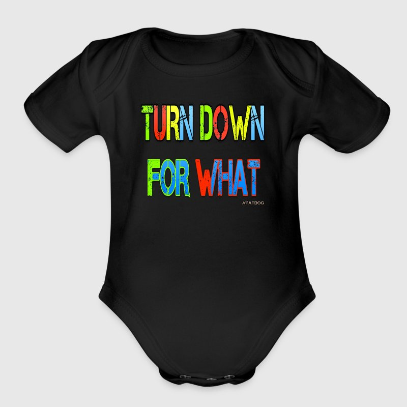 Turn Down for What - Short Sleeve Baby Bodysuit