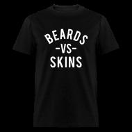 T-Shirts ~ Men's T-Shirt ~ Beards vs. Skins