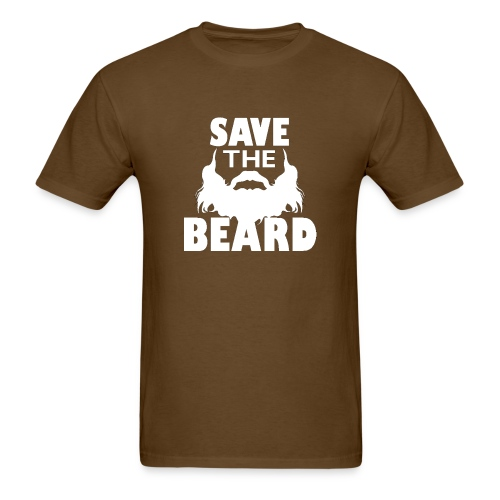Save The Beard - Men's T-Shirt