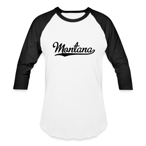 Montana Custom City Baseball Shirt - Baseball T-Shirt