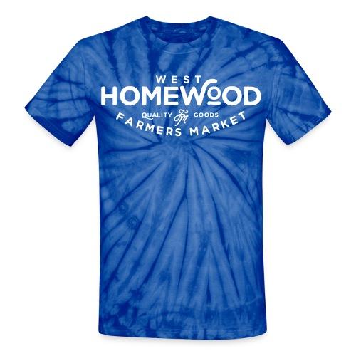 WHFM Unisex Tie Dye T-Shirt - Unisex Tie Dye T-Shirt