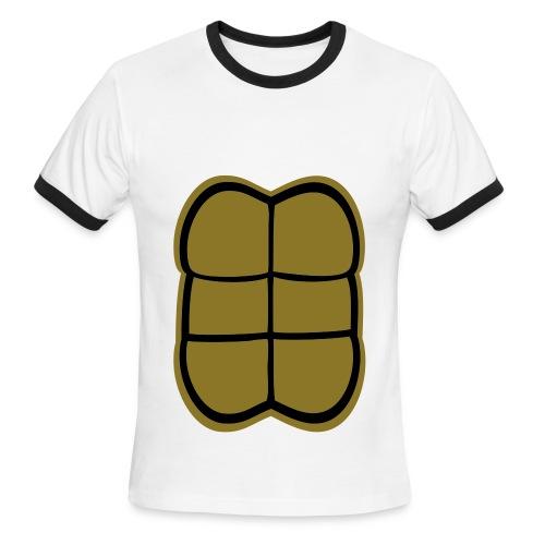 Strong Turtle Men - Men's Ringer T-Shirt
