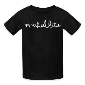 Mahal Kita I Love You Kids Tee by AiReal Apparel - Kids' T-Shirt