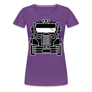 Philippines Jeepney Ride Womens Tee by AiReal Apparel - Women's Premium T-Shirt