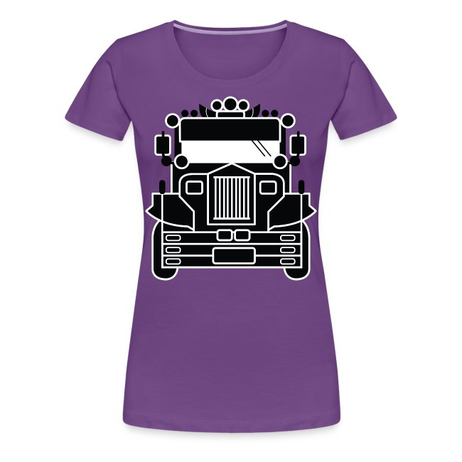 Philippines Jeepney Ride Womens Tee by AiReal Apparel