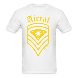 AiReal Militant Filipino Sun and Stars Mens Tee Shirt by AiReal Apparel - Men's T-Shirt