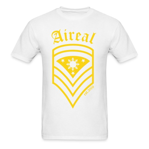 AiReal Militant Filipino Sun and Stars Mens Tee Shirt by AiReal Apparel - Men's T-Shirt