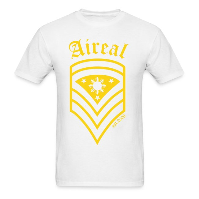 AiReal Militant Filipino Sun and Stars Mens Tee Shirt by AiReal Apparel