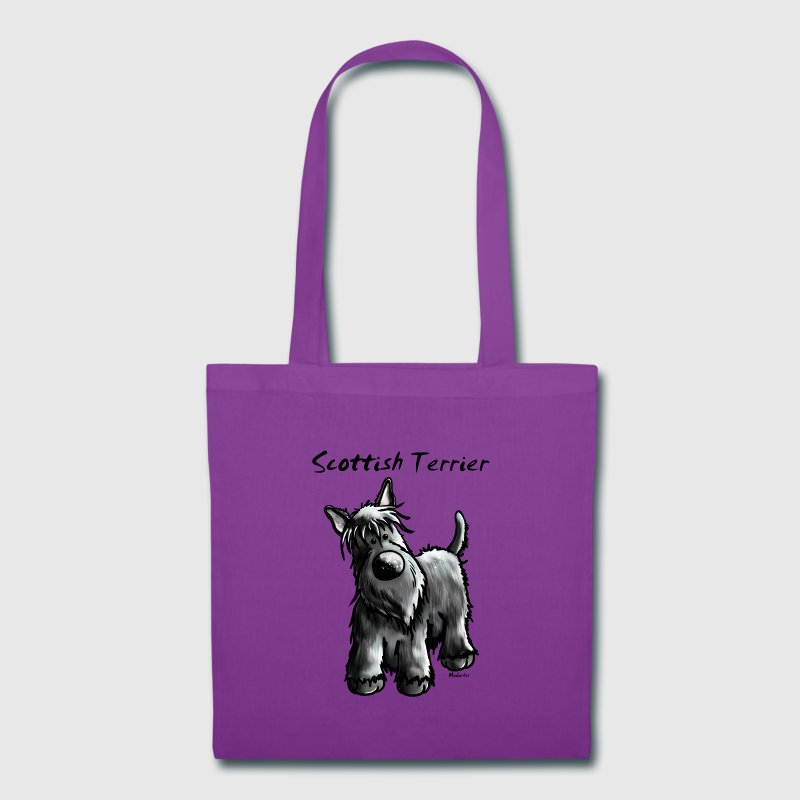 Cute Scottish Terrier Bags & backpacks - Tote Bag