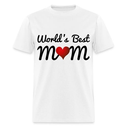 World's Best Mum - Men's T-Shirt