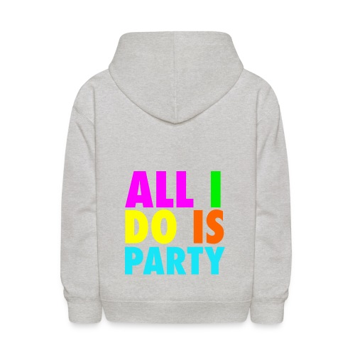 party right on - Kids' Hoodie