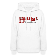 Hoodies ~ Women's Hooded Sweatshirt ~ Olde Belle Isle Detroit