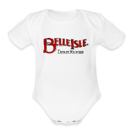 Baby & Toddler Shirts ~ Baby Short Sleeve One Piece ~ Olde Belle Isle Detroit