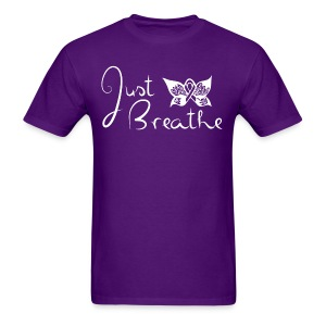 Just Breathe Butterfly Tee - Mens - Men's T-Shirt