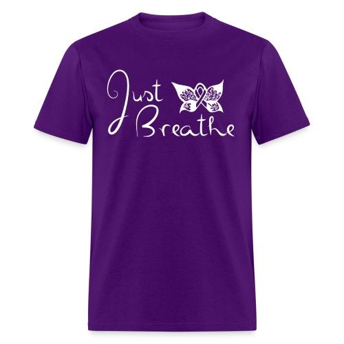 Just Breathe Butterfly Tee - Mens - Men's T-Shirt