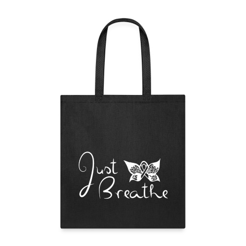 Just Breathe Butterfly Tote - Tote Bag