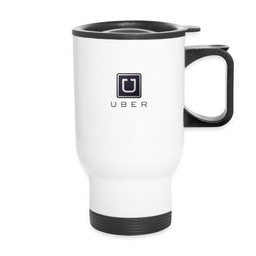 White Uber Coffee Mug - Travel Mug