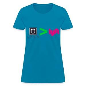 Uber Better than Lyft - Women's T-Shirt