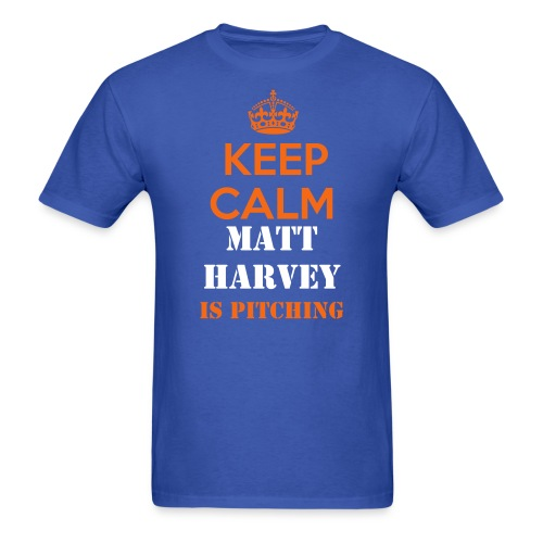 METS - Matt Harvey - Men's T-Shirt