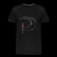 T-Shirts ~ Men's Premium T-Shirt ~ Abnormality Swirling Ophelia