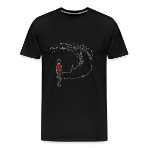 Abnormality Swirling Ophelia - Men's Premium T-Shirt