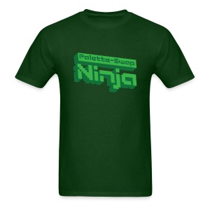 Palette-Swap Ninja - Logo Green - Men's T-Shirt