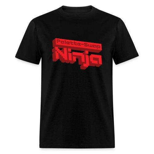 Palette-Swap Ninja - Logo Red - Men's T-Shirt