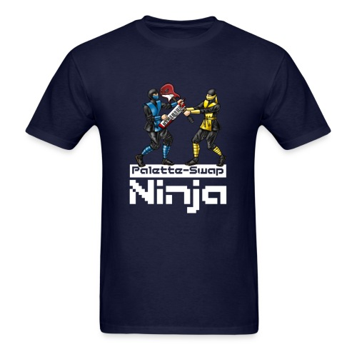 Palette-Swap Ninja - Toon Ninjas Dark - Men's T-Shirt