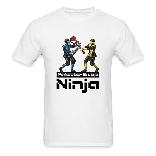 Palette-Swap Ninja - Learn to Spell lyric light - Men's T-Shirt