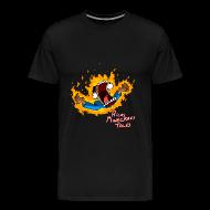 T-Shirts ~ Men's Premium T-Shirt ~ Screaming In Lava RMCT
