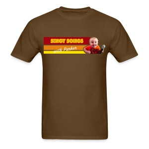 Singy Songs with Parker Men's T-Shirt - Men's T-Shirt