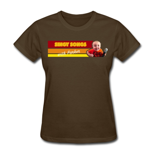 Singy Songs with Parker Women's T-Shirt - Women's T-Shirt