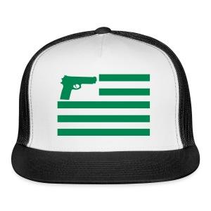 BOOMERS CLUB FLAG TRUCKER CAP - Trucker Cap