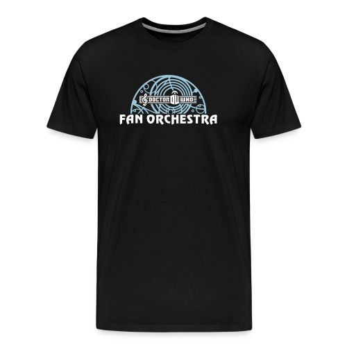 Men's Black - DWFO logo T - Men's Premium T-Shirt