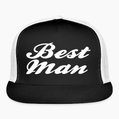 Best Man Script design Caps