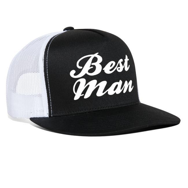 1999c45f082 Best Man Trucker Hat Cap Design